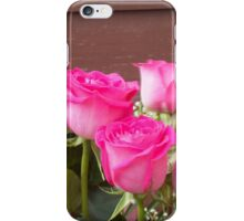 Pink Roses 6 iPhone Case/Skin