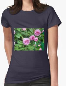 Pink Roses in the Garden 2 T-Shirt