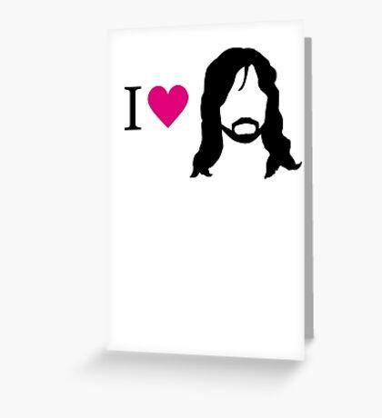 I love Kili Greeting Card