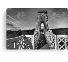 Suspended footpath Canvas Print