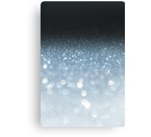 Silver abstract light background Canvas Print