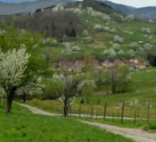 The Vosges Mountains Sticker
