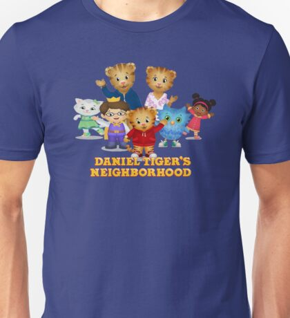 Daniel Tiger's Neighborhood Unisex T-Shirt