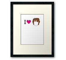 I love Bilbo Framed Print
