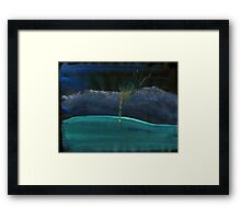 WDV - 381 - Touch Vector Framed Print