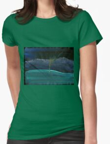 WDV - 381 - Touch Vector Womens Fitted T-Shirt