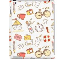 Cartoon traveling elements iPad Case/Skin