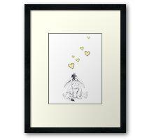 Walt Disney's Eeyore Framed Print