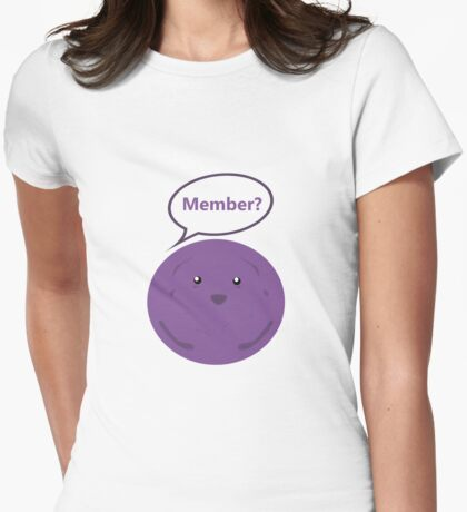 Member? Womens Fitted T-Shirt