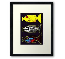 The Hitchhikers Guide to the Galaxy - 3 Babel Fish Framed Print