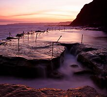 Bogey Hole at Dusk by Mark Snelson