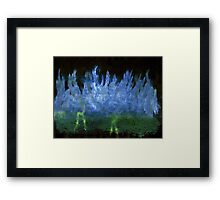WDV - 387 - Beyond the Wall of Ice Framed Print