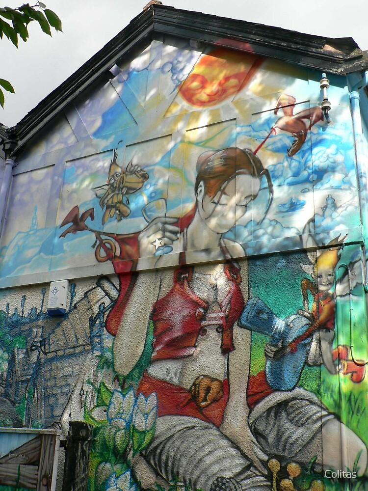 Graffitti House by Colitas