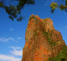 Belougery Spire in the Warrumbungles by Michael Matthews