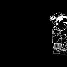 Ich und dich - White Outline by Kitsune Arts
