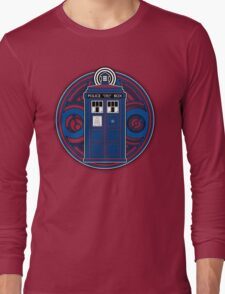 TARDIS and Timelord Seal - Doctor Who Long Sleeve T-Shirt