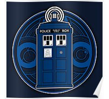 TARDIS and Timelord Seal - Doctor Who Poster