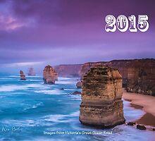 Great Ocean Road Calendar for 2015 by ken47