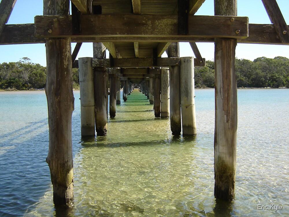 Footbridge at Valla Beach by Eric Kyle