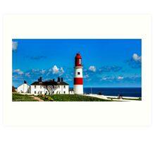 Souter Lighthouse Art Print