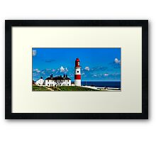 Souter Lighthouse Framed Print