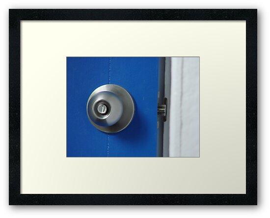 blue door by Marina Hurley