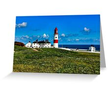 Souter Lighthouse Greeting Card