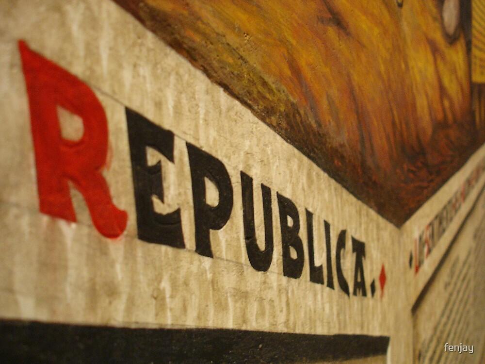 Viva La Revolucion! by fenjay