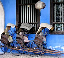 Rickshaws by Andrew Parker