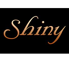 Shiny - Firefly and Serenity Photographic Print