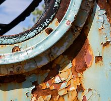 Rust on Blue by Thomas Kress
