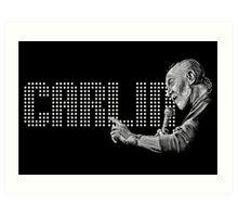 George Carlin - comedy legend Art Print
