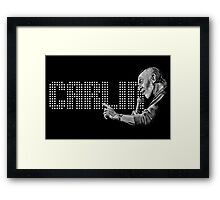 George Carlin - comedy legend Framed Print