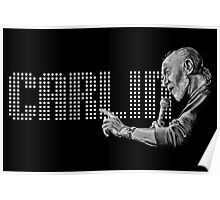 George Carlin - comedy legend Poster