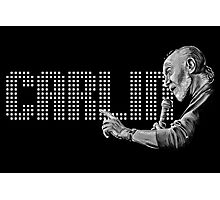 George Carlin - comedy legend Photographic Print