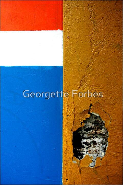 carpark buddah by Georgette Forbes