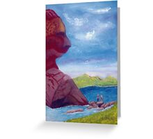 Crossing The River (Card) Greeting Card