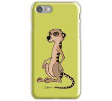 Toby, the Meerkat - No Writings iPhone Case/Skin
