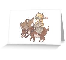.: Swag Moose :. Greeting Card