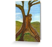 Tree (Card) Greeting Card