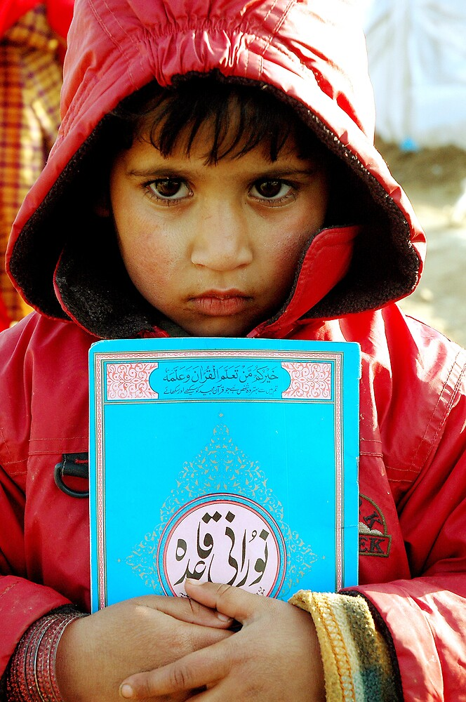 Child and Quran by Jacob Simkin