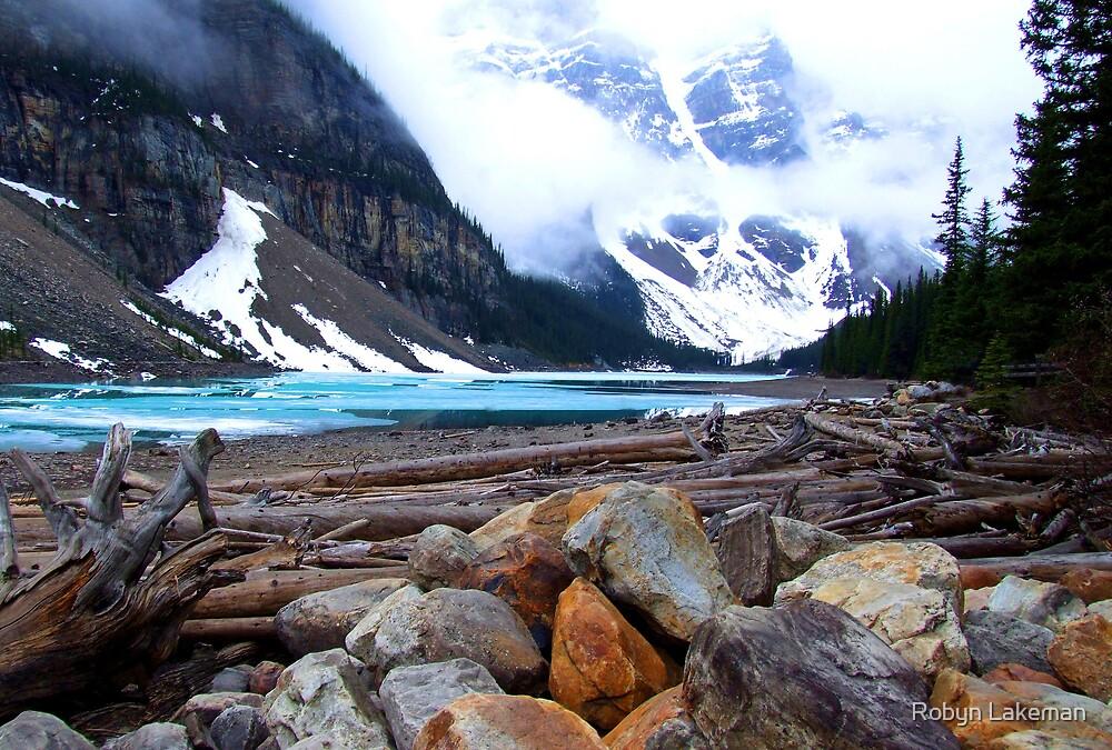 Moraine Lake, Canada by Robyn Lakeman