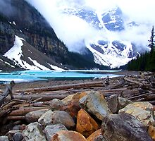 Moraine Lake, Canada by Robyn Lakeman