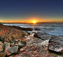 One Mile Beach Sunrise 3 by Mark Snelson