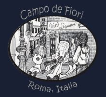 Italy- the Campo de Fiori in Rome * Kids Clothes