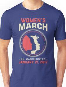 Women's March WASHINGTON Unisex T-Shirt