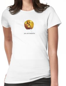 you are beautiful v2.0 Womens Fitted T-Shirt