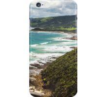 Coastline west of Lorne iPhone Case/Skin