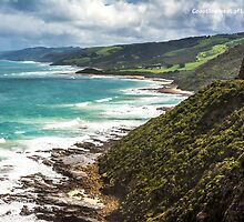 Coastline west of Lorne by ken47
