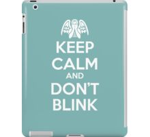 KEEP CALM 1 iPad Case/Skin